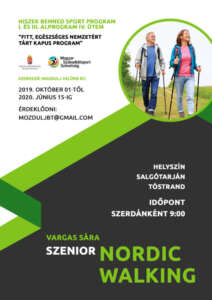 varga sara szenior nordic walking 2019 2020
